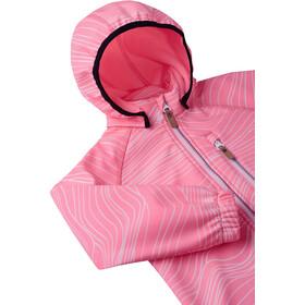 Reima Vantti Chaqueta Softshell Niños, neon pink